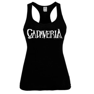 CADAVERIA LOGO - TANK TOP FOR GIRLS