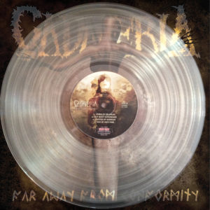 FAR AWAY FROM CONFORMITY CLEAR VINYL HAND NUMBERED LTD EDITION
