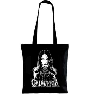 SHOPPER BAG W/CADAVERIA IMAGE